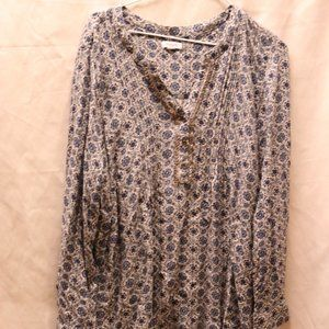 Westport Blue and White Blouse